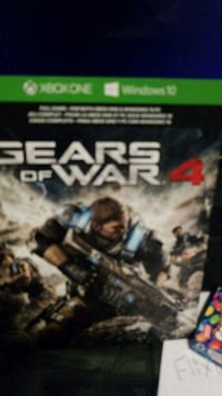 Gears of War 4 Xbox One game  Kelowna, V1Y 6J7
