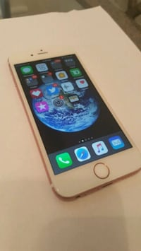 I phone 6 s rose gold  786 km