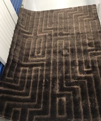 """New Brown Patterned Shag Rug 5'3"""" by 7'3"""" Richmond Hill, L4B 4T9"""