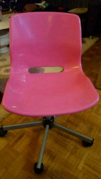Pink desk chair Toronto, M1J 2G6