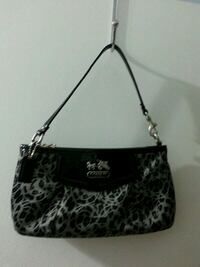 women's black and gray leopard print tote bag Toronto, M9M 2X3