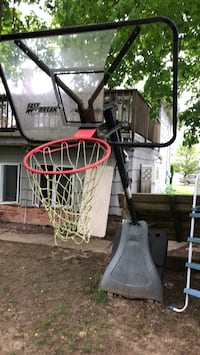 Basketball hoop needs new backboard in. Good condition just needs to. Be cleaned and new back. Board come take it  Islip, 11751