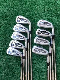 Mizuno MX-1000 9 Iron Set, 4 thru PW plus GW and SW, Stiff Flex Houston, 77064