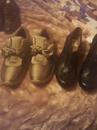 two pairs of brown leather dress shoes Fresno, 93722