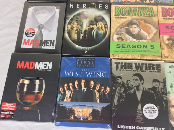 DVD Box Sets Various TV Shows Seasons $5 each ff31ec5b-40c8-484c-9de7-dc1ab67989cc