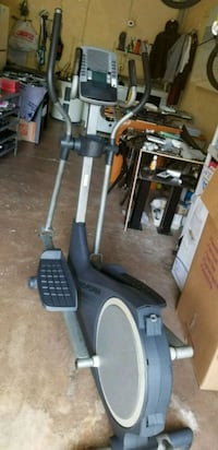 black and gray elliptical trainer Coral Springs, 33071