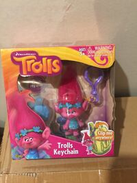 Dreamworks Trolls keychain with box Calgary, T3M 2C8