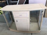 white wooden single pedestal desk Las Vegas, 89113