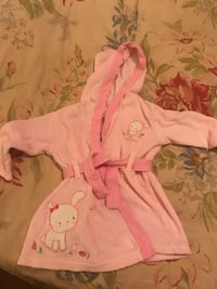 baby's pink and white footie pajama Mobile, 36604