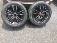 Infiniti G37 wheels with tires ONLY 2 Clifton, 07013