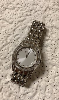 Wittnauer diamond bezel watch