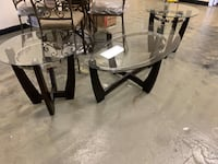 Glass top coffee table set brand new Jacksonville, 32216