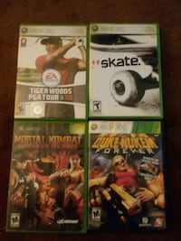 four Xbox 360 games with cases New Richmond, 45157