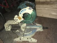 Makita compound mitre saw with laser
