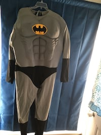 Adult size large Batman costume. No cape or cowl Virginia Beach, 23462