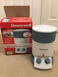 White and black honeywell portable air conditioner with box Fairfax, 22033