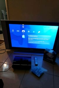 "42"" Philips plasma with  PS3 console"