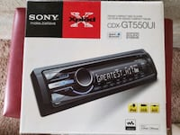 Sony Xplod Car Stereo with Multicolored Display