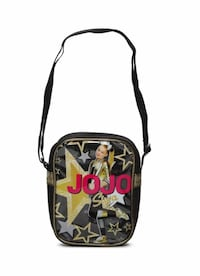 Girls JoJo Siwa Crossbody Shoulder Bag Black Alexandria, 22304