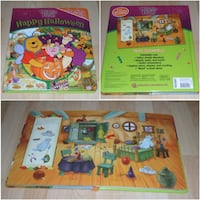 """Winnie the Pooh Happy Halloween First Look and Find Book (large 12"""" x 10"""" size) Surrey"""