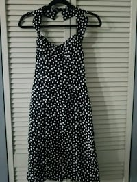 Snap Brand Black and White Halter Dress Size Small North Bay Village, 33141