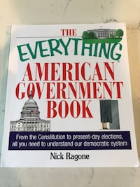 American Government Book Los Angeles, 90065