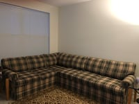 ON HOLD - Sealy 2 pc. Sectional Couch - Excellent Condition