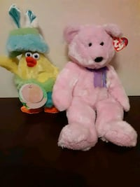 Easter plushies