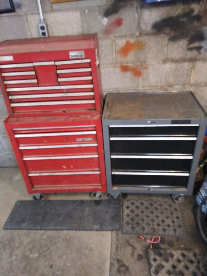 Photo 2 craftsman tool boxes