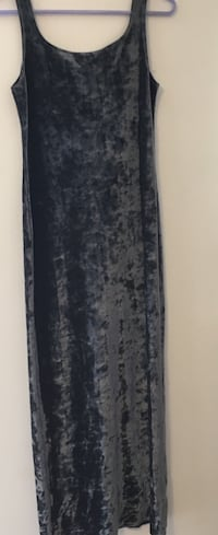 Grey velvety long dress Innisfil, L9S