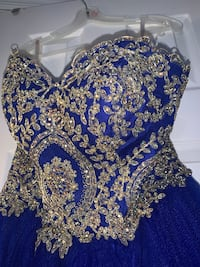ROYAL BLUE PROM DRESS New York, 11413