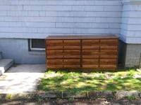 Dresser Used Good Condition Sturdy Strong Brown Furniture With Drawers