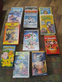 assorted DVD movie case lot Laval, H7W 2R8