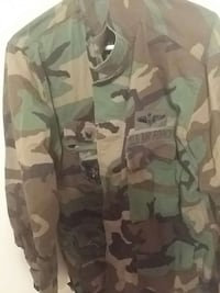 Vintage Air Force Camo Jacket Manassas, 20109
