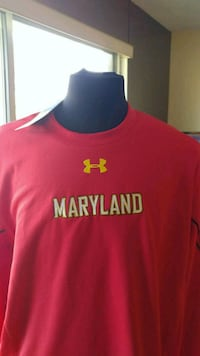 Maryland University cold gear pullover