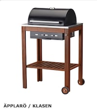 BRAND NEW IN BOX- Charcoal Grill w/stand Clinton