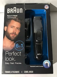 Braun Face & Head Trimming Kit Modesto, 95355