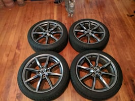 """Wheels and Tires 17x7"""" 4x100"""