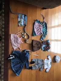 AMERICAN girl doll outfits 22 mi
