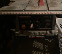 Task Force 10 Inch Bench Table Saw