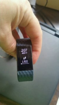 Fitbit Charge 2, used, cracked screen   White Cloud, 49349
