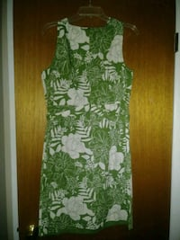 White and green floral dress Clinton Township, 48038