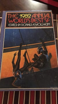 The 1982 Annual World's Best SF Laurel, 20723