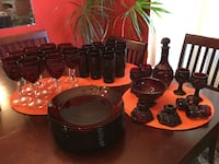 Antique Red Dinner ware Palmdale, 93552