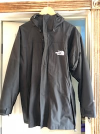 black The North Face zip-up jacket Foster City, 94404