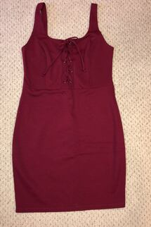 Burgundy Dress Size 6-8