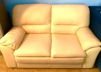 Light colored loveseat and couch. Good condition. Made in Italy. Brand: Natuzzi.  Harrisburg