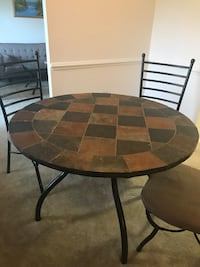 Great Stone Table With 3 Chairs Fairfax, 22031