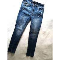nwot Design Lab Distressed Jeans 29 Burnaby