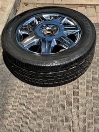 A set of 4 brand new tire and a set of 4 Mercedes rim Toronto, M1S 4K8